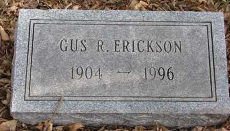 ERICKSON, GUS R. - Clay County, South Dakota | GUS R. ERICKSON - South Dakota Gravestone Photos