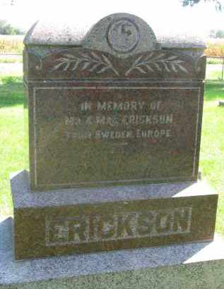 ERICKSON, IN MEMORY OF - Clay County, South Dakota | IN MEMORY OF ERICKSON - South Dakota Gravestone Photos