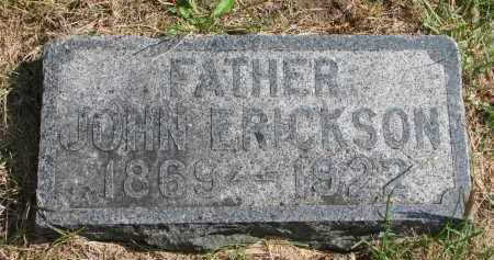 ERICKSON, JOHN - Clay County, South Dakota | JOHN ERICKSON - South Dakota Gravestone Photos