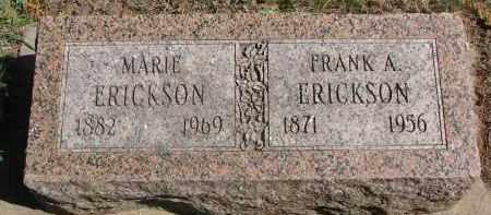 ERICKSON, MARIE - Clay County, South Dakota | MARIE ERICKSON - South Dakota Gravestone Photos