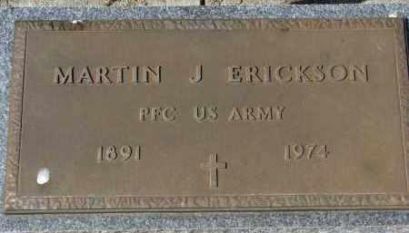 ERICKSON, MARTIN J. (MILITARY) - Clay County, South Dakota   MARTIN J. (MILITARY) ERICKSON - South Dakota Gravestone Photos