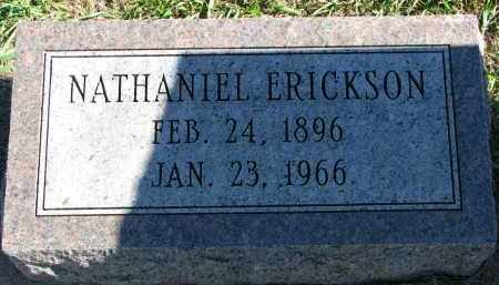 ERICKSON, NATHANIEL - Clay County, South Dakota | NATHANIEL ERICKSON - South Dakota Gravestone Photos