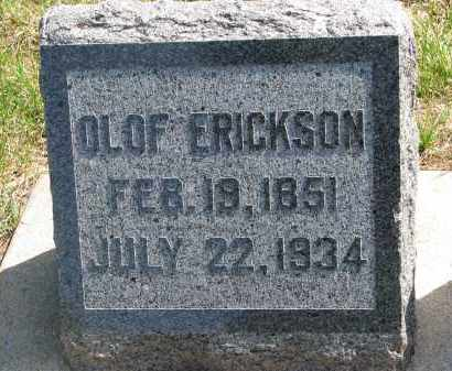 ERICKSON, OLOF - Clay County, South Dakota | OLOF ERICKSON - South Dakota Gravestone Photos