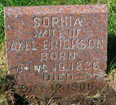 ERICKSON, SOPHIA - Clay County, South Dakota | SOPHIA ERICKSON - South Dakota Gravestone Photos