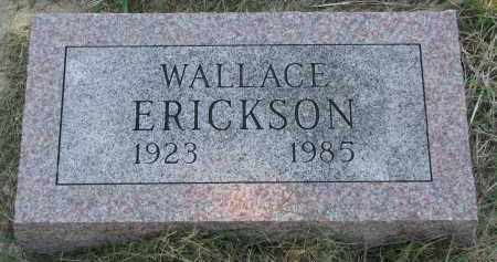 ERICKSON, WALLACE - Clay County, South Dakota | WALLACE ERICKSON - South Dakota Gravestone Photos