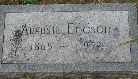 ERICSON, AUGUSTA - Clay County, South Dakota | AUGUSTA ERICSON - South Dakota Gravestone Photos