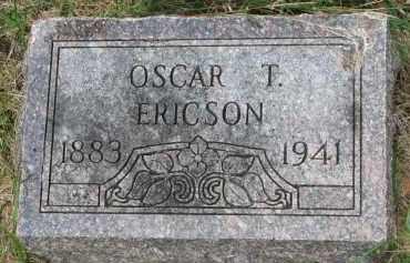 ERICSON, OSCAR T. - Clay County, South Dakota | OSCAR T. ERICSON - South Dakota Gravestone Photos