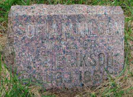 NILSON ERIKSON, SOFIA - Clay County, South Dakota | SOFIA NILSON ERIKSON - South Dakota Gravestone Photos