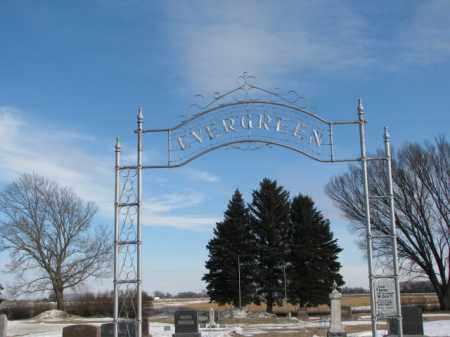 ***EVERGREEN, BERGEN LUTHERAN - Clay County, South Dakota   BERGEN LUTHERAN ***EVERGREEN - South Dakota Gravestone Photos
