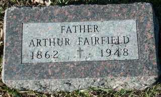 FAIRFIELD, ARTHUR - Clay County, South Dakota | ARTHUR FAIRFIELD - South Dakota Gravestone Photos