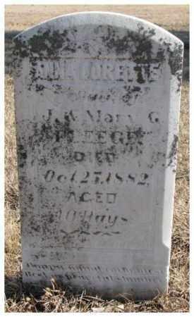 FLEGGE, ANNA LORETTE - Clay County, South Dakota   ANNA LORETTE FLEGGE - South Dakota Gravestone Photos