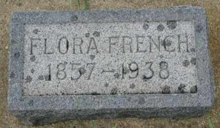 FRENCH, FLORA - Clay County, South Dakota | FLORA FRENCH - South Dakota Gravestone Photos