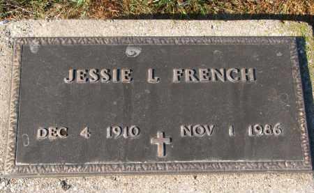 FRENCH, JESSIE L. - Clay County, South Dakota | JESSIE L. FRENCH - South Dakota Gravestone Photos