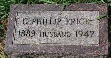 FRICK, C. PHILLIP - Clay County, South Dakota | C. PHILLIP FRICK - South Dakota Gravestone Photos