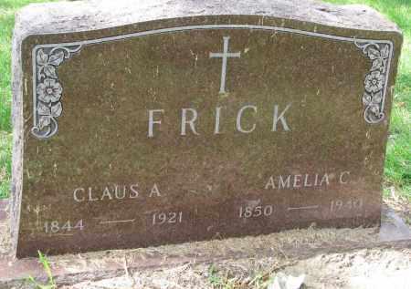 FRICK, AMELIA C. - Clay County, South Dakota | AMELIA C. FRICK - South Dakota Gravestone Photos