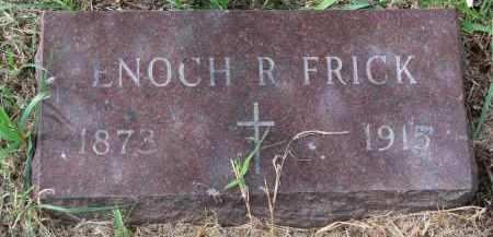 FRICK, ENOCH R. - Clay County, South Dakota | ENOCH R. FRICK - South Dakota Gravestone Photos