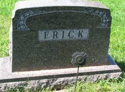 FRICK, FAMILY STONE - Clay County, South Dakota | FAMILY STONE FRICK - South Dakota Gravestone Photos