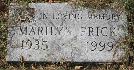 FRICK, MARILYN - Clay County, South Dakota | MARILYN FRICK - South Dakota Gravestone Photos