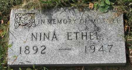 FRICK, NINA ETHEL - Clay County, South Dakota | NINA ETHEL FRICK - South Dakota Gravestone Photos