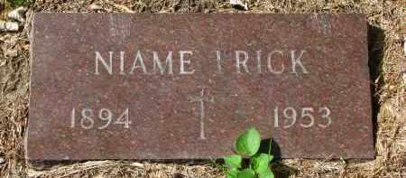 FRICK, NIAME - Clay County, South Dakota | NIAME FRICK - South Dakota Gravestone Photos