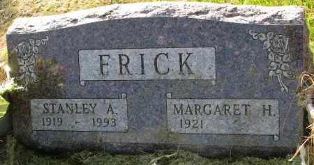 FRICK, MARGARET H. - Clay County, South Dakota | MARGARET H. FRICK - South Dakota Gravestone Photos