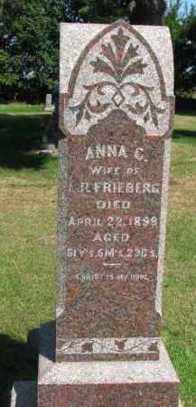 FRIEBERG, ANNA C. (2 OF 2) - Clay County, South Dakota | ANNA C. (2 OF 2) FRIEBERG - South Dakota Gravestone Photos