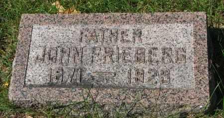 FRIEBERG, JOHN - Clay County, South Dakota   JOHN FRIEBERG - South Dakota Gravestone Photos