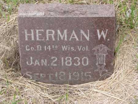 FRIER, HERMAN W. - Clay County, South Dakota | HERMAN W. FRIER - South Dakota Gravestone Photos