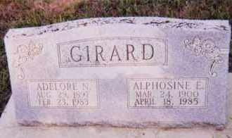 GIRARD, ALPHOSINE E. - Clay County, South Dakota | ALPHOSINE E. GIRARD - South Dakota Gravestone Photos
