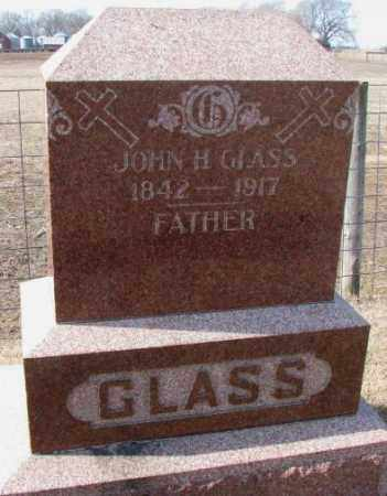 GLASS, JOHN H. - Clay County, South Dakota | JOHN H. GLASS - South Dakota Gravestone Photos