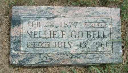 GOBELL, NELLIE E. - Clay County, South Dakota   NELLIE E. GOBELL - South Dakota Gravestone Photos
