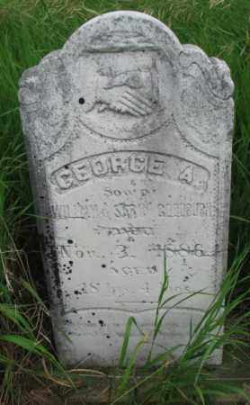 GOODBURN, GEORGE A. - Clay County, South Dakota | GEORGE A. GOODBURN - South Dakota Gravestone Photos