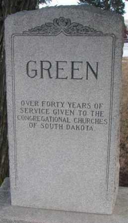 GREEN, PLOT - Clay County, South Dakota | PLOT GREEN - South Dakota Gravestone Photos