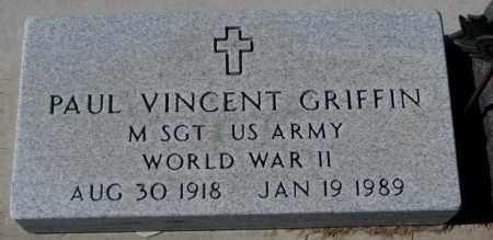 GRIFFIN, PAUL V. (WW II) - Clay County, South Dakota | PAUL V. (WW II) GRIFFIN - South Dakota Gravestone Photos