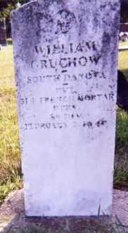 GRUCHOW, WILLIAM - Clay County, South Dakota | WILLIAM GRUCHOW - South Dakota Gravestone Photos