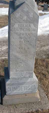 GUNDERSON, IRENA - Clay County, South Dakota   IRENA GUNDERSON - South Dakota Gravestone Photos