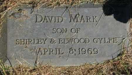 GYLFE, DAVID MARK - Clay County, South Dakota | DAVID MARK GYLFE - South Dakota Gravestone Photos