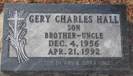 HALL, GERY CHARLES - Clay County, South Dakota | GERY CHARLES HALL - South Dakota Gravestone Photos