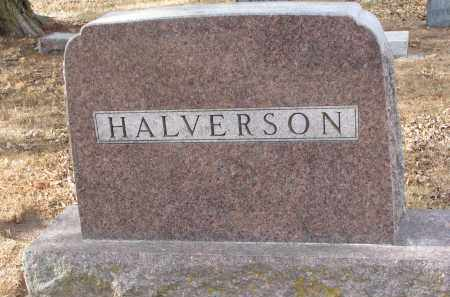 HALVERSON, FAMILY STONE - Clay County, South Dakota | FAMILY STONE HALVERSON - South Dakota Gravestone Photos