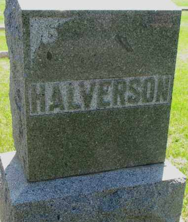 HALVERSON, FAMILY STONE - Clay County, South Dakota   FAMILY STONE HALVERSON - South Dakota Gravestone Photos
