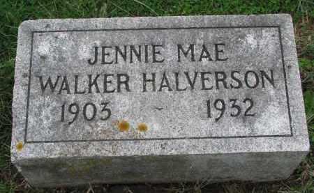 HALVERSON, JENNIE MAE - Clay County, South Dakota | JENNIE MAE HALVERSON - South Dakota Gravestone Photos