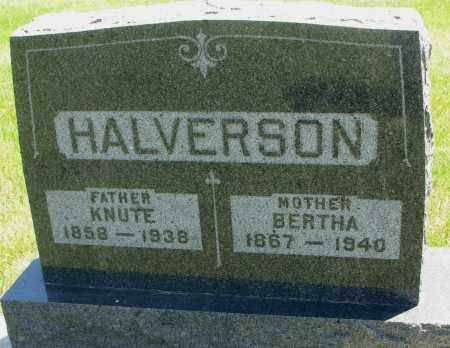 HALVERSON, BERTHA - Clay County, South Dakota | BERTHA HALVERSON - South Dakota Gravestone Photos
