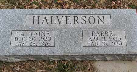 HALVERSON, DARREL - Clay County, South Dakota | DARREL HALVERSON - South Dakota Gravestone Photos