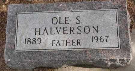 HALVERSON, OLE S. - Clay County, South Dakota   OLE S. HALVERSON - South Dakota Gravestone Photos