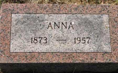 HANSEN, ANNA - Clay County, South Dakota   ANNA HANSEN - South Dakota Gravestone Photos