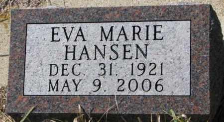 HANSEN, EVA MARIE - Clay County, South Dakota | EVA MARIE HANSEN - South Dakota Gravestone Photos