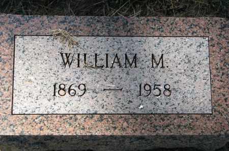HANSEN, WILLIAM M. - Clay County, South Dakota   WILLIAM M. HANSEN - South Dakota Gravestone Photos
