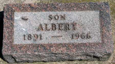 HANSON, ALBERT - Clay County, South Dakota   ALBERT HANSON - South Dakota Gravestone Photos