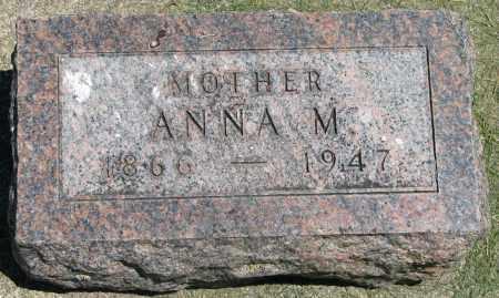 HANSON, ANNA M. - Clay County, South Dakota | ANNA M. HANSON - South Dakota Gravestone Photos