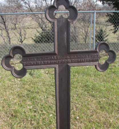 HANSON, CARA MAGDALENNA - Clay County, South Dakota   CARA MAGDALENNA HANSON - South Dakota Gravestone Photos